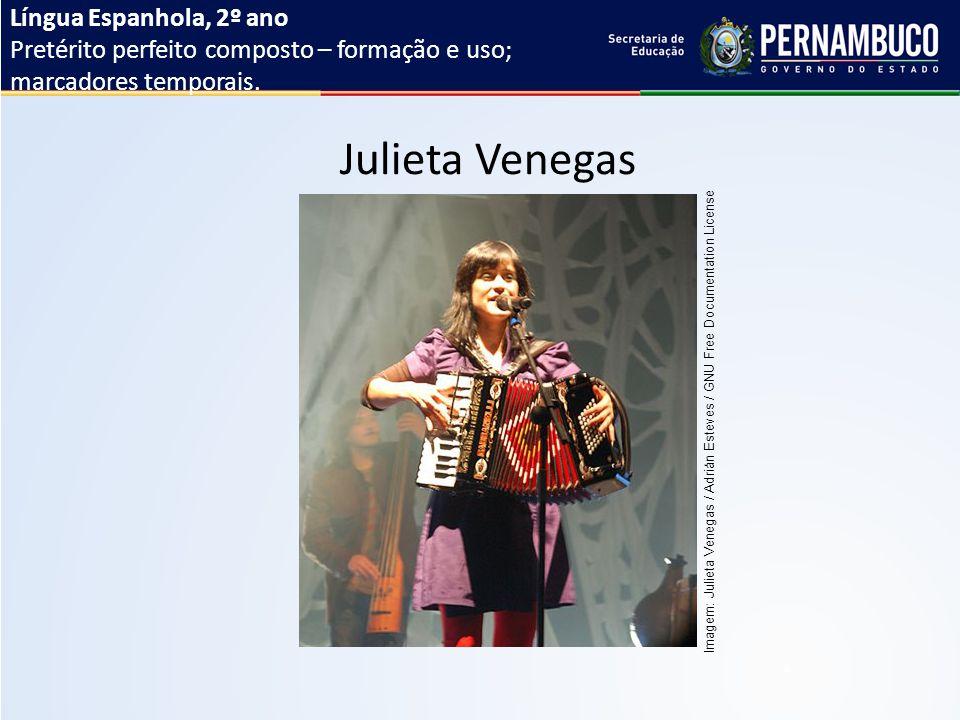 Língua Espanhola, 2º ano Pretérito perfeito composto – formação e uso; marcadores temporais.