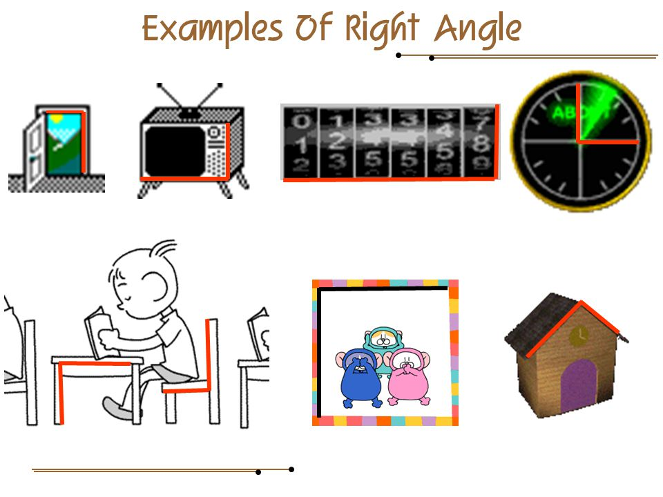 Examples Of Right Angle