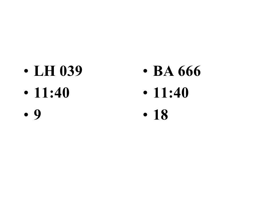 BA 838 9 IB 290 11:35 15