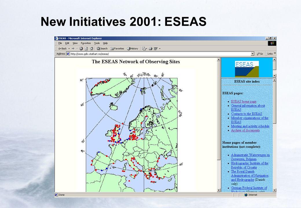 New Initiatives 2001: ESEAS