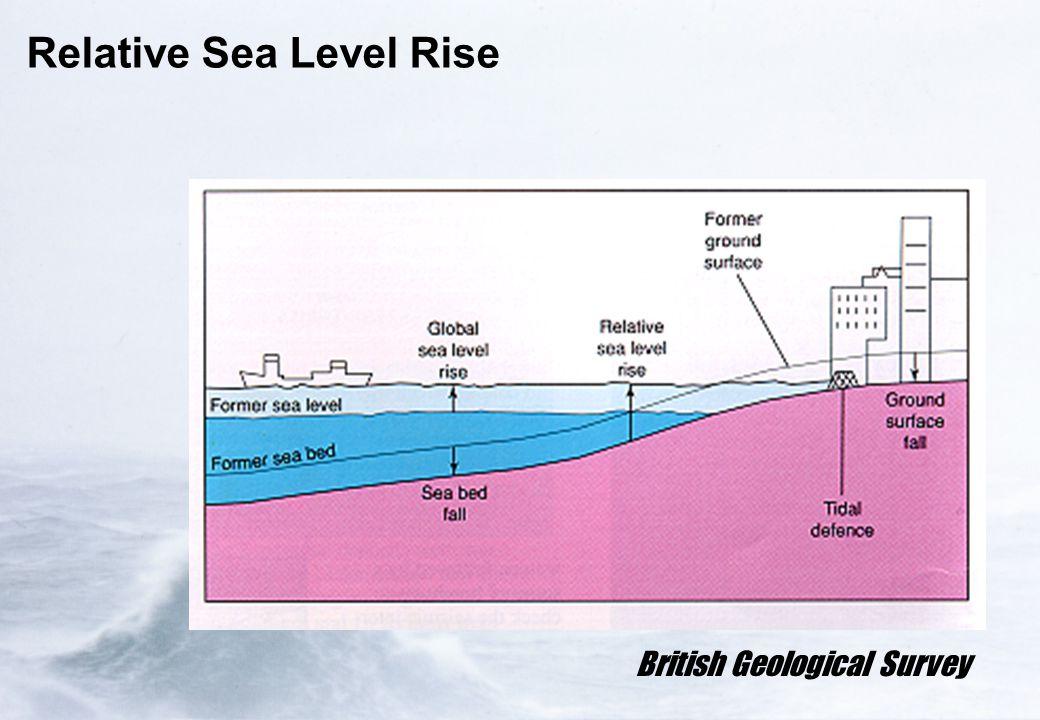 Relative Sea Level Rise British Geological Survey
