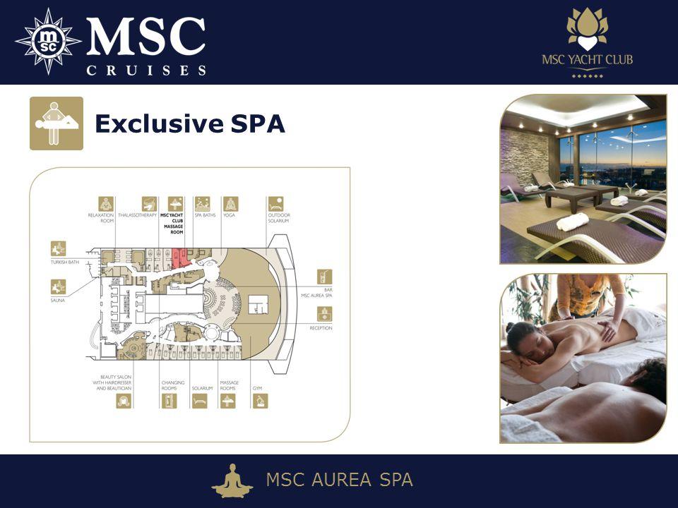 MSC AUREA SPA Exclusive SPA