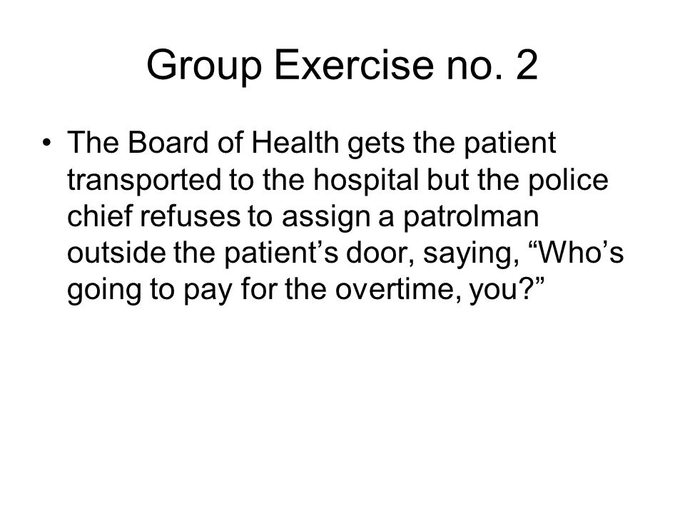 Group Exercise no.