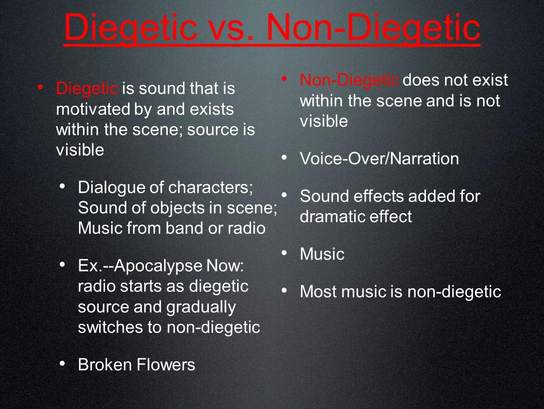 Elements of a Soundtrack Dialog Interview Narration (voice-over) 1.) Voice