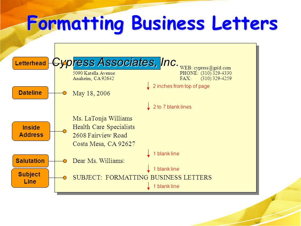 WEB: cypress@grid.com 5090 Katella Avenue PHONE: (310) 329-4330 Anaheim, CA 92642 FAX: (310) 329-4259 May 18, 2006 Ms. LaTonja Williams Health Care Sp