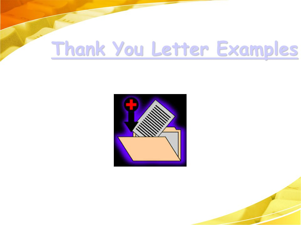 Thank You Letter Examples Thank You Letter Examples Thank You Letter Examples Thank You Letter Examples