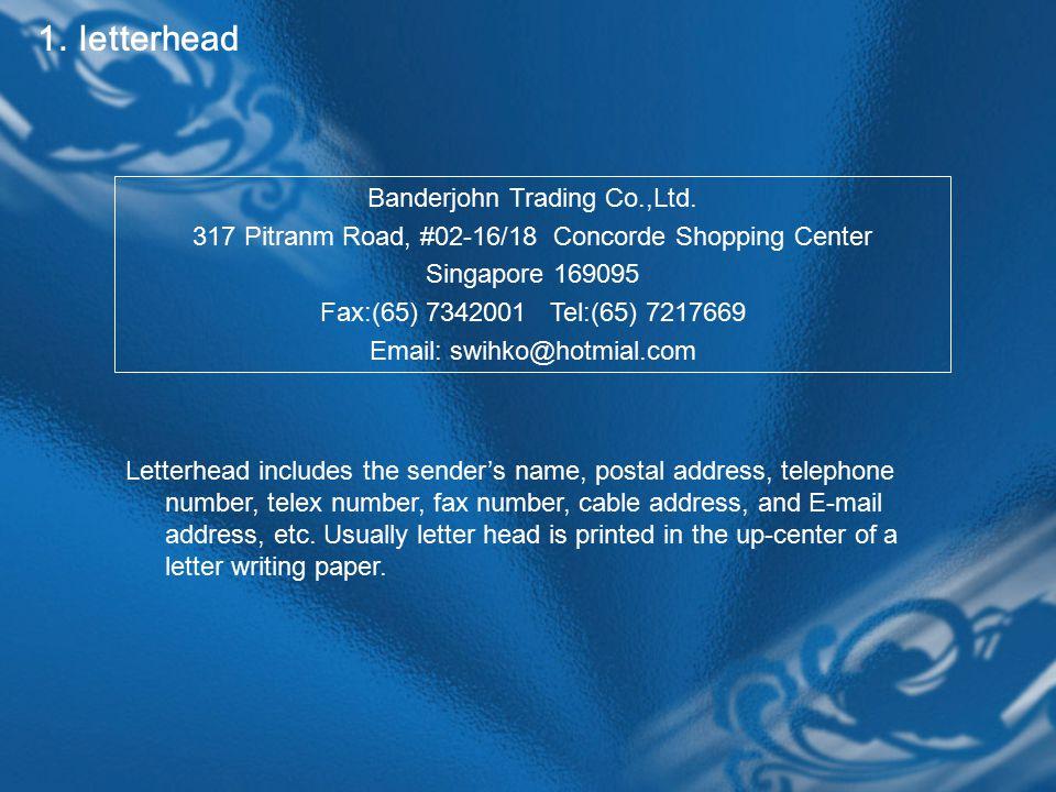 1. letterhead Banderjohn Trading Co.,Ltd.