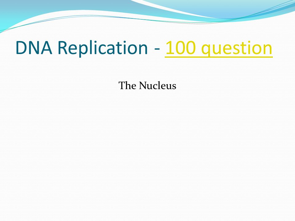 DNA Replication - 200 answer200 answer This is the name of the structure and site where replication begins on the DNA molecule.