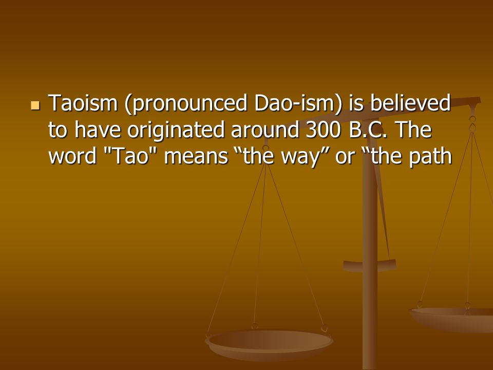 Many people interested in the Tao are still under the impression that Lao Tzu founded Taoism about 2,500 years ago.