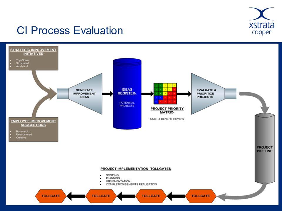 CI Process Evaluation