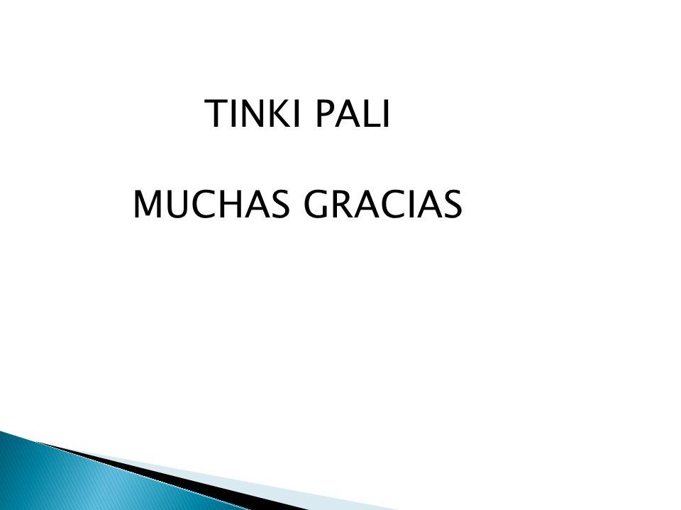 TINKI PALI MUCHAS GRACIAS