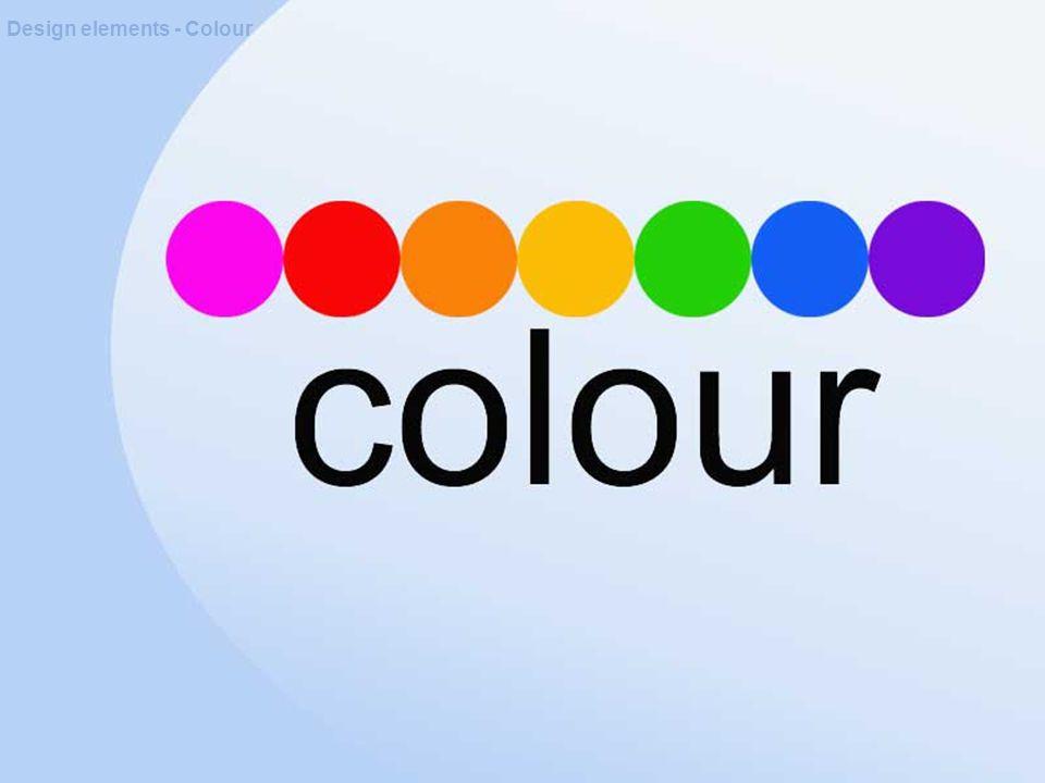 Design elements - Colour