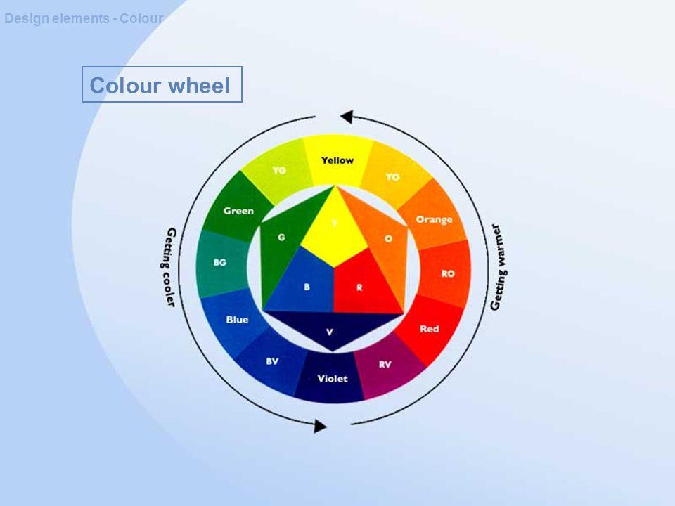 Colour wheel Design elements - Colour