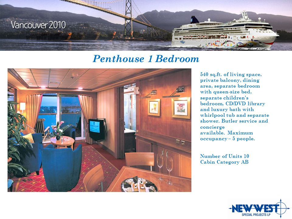 Penthouse 1 Bedroom 540 sq.ft.