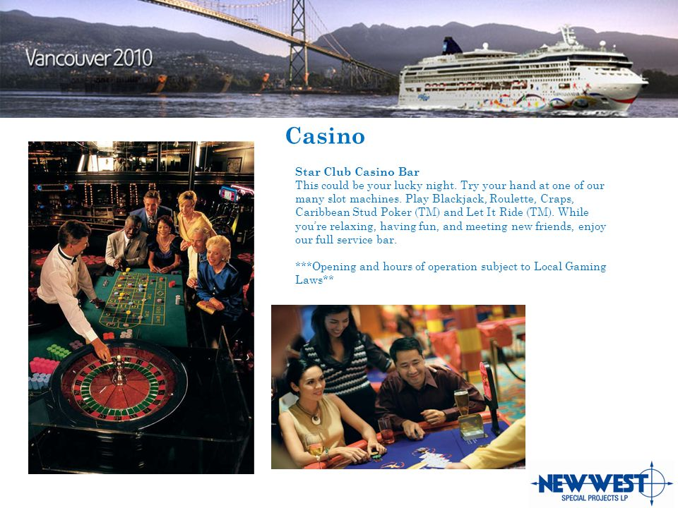 Casino Star Club Casino Bar This could be your lucky night.