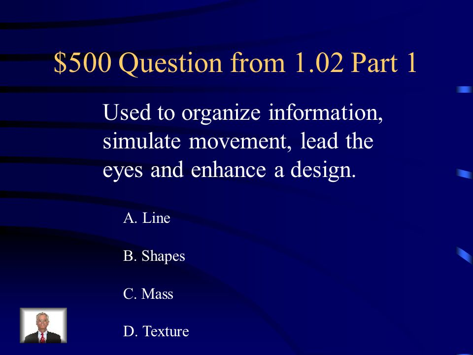 $400 Answer from 1.02 Part 1 C. Repetition/Consistency