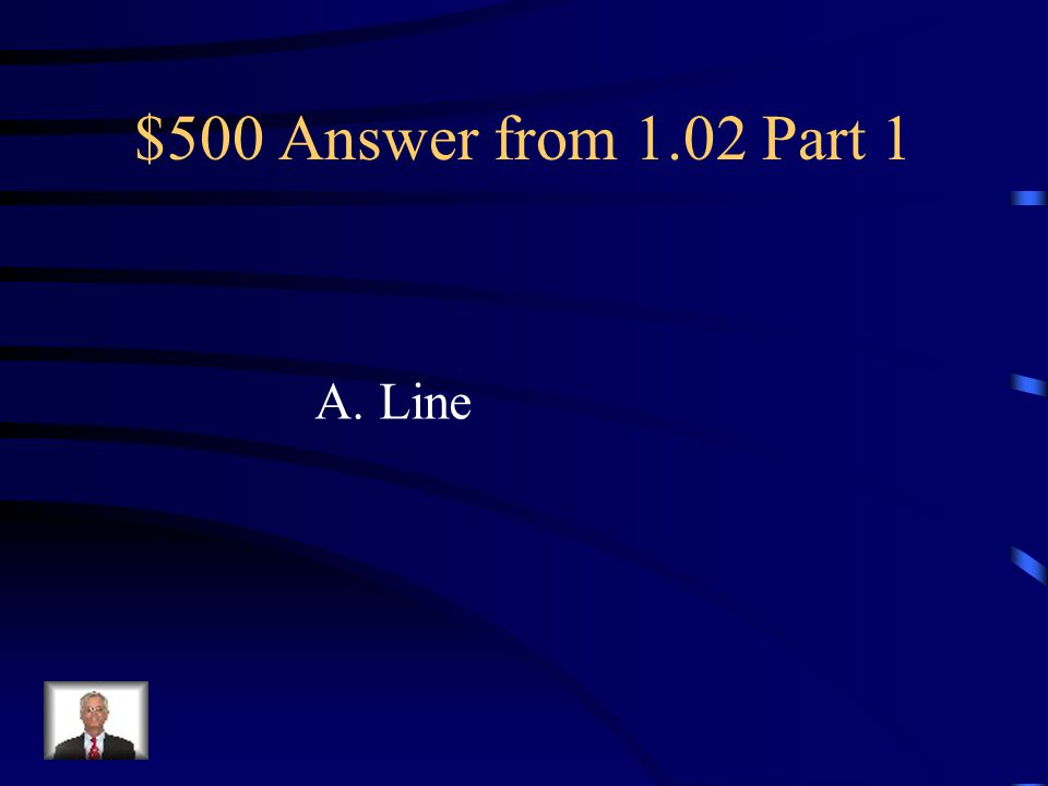 $500 Question from 1.02 Part 1 Used to organize information, simulate movement, lead the eyes and enhance a design. A. Line B. Shapes C. Mass D. Textu