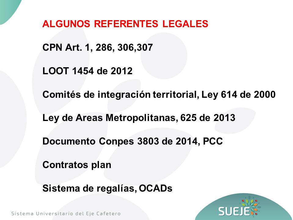 ALGUNOS REFERENTES LEGALES CPN Art.