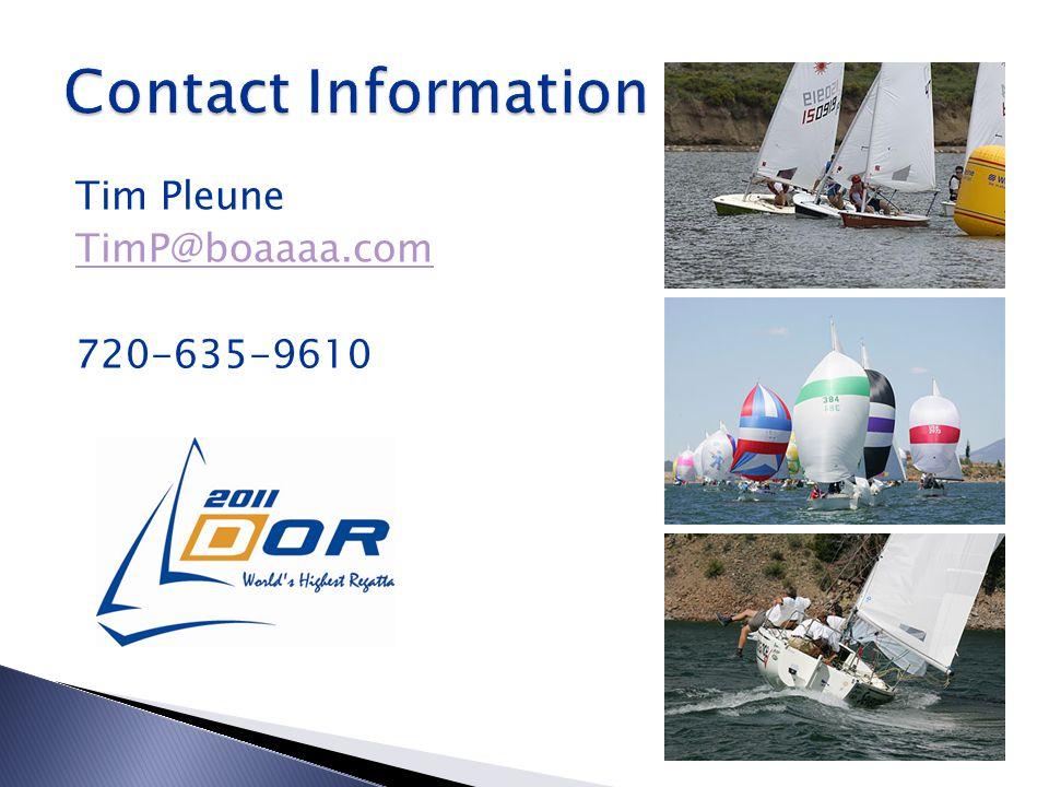Tim Pleune TimP@boaaaa.com 720-635-9610
