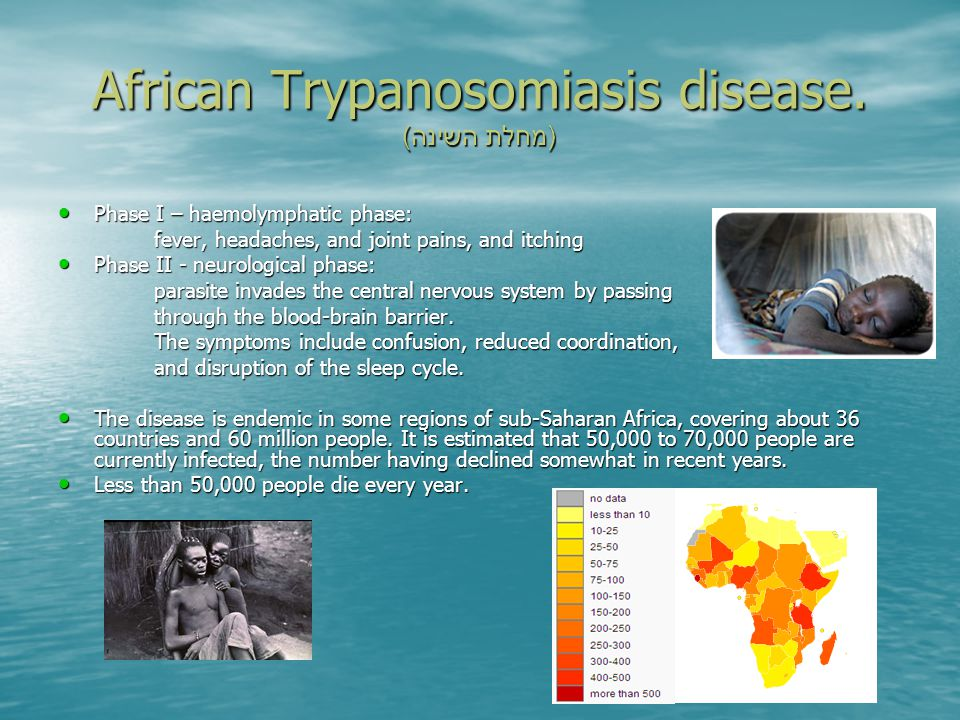 African Trypanosomiasis disease.
