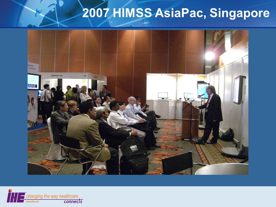 2007 HIMSS AsiaPac, Singapore