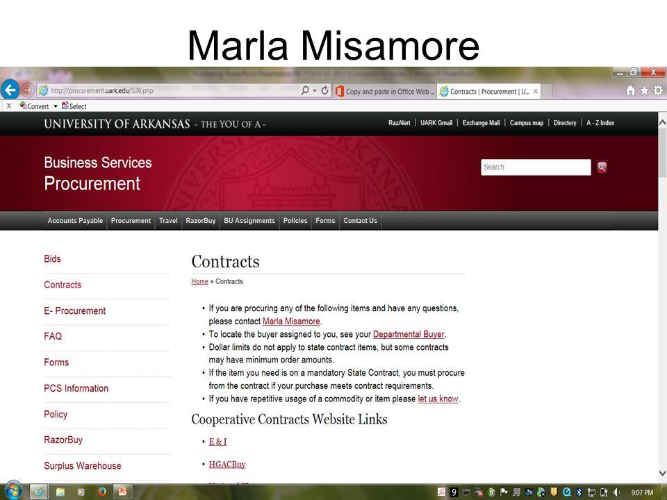 Marla Misamore
