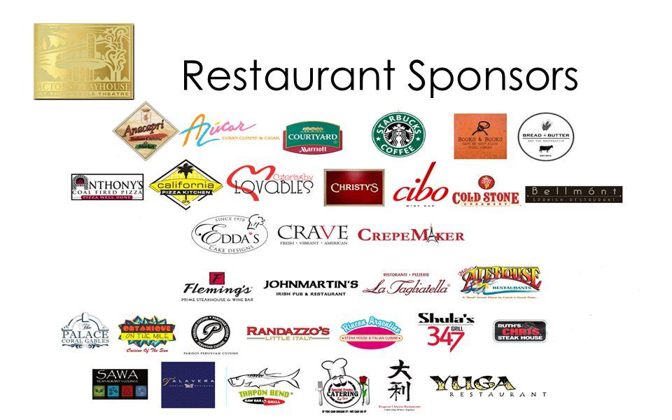 Restaurant Sponsors