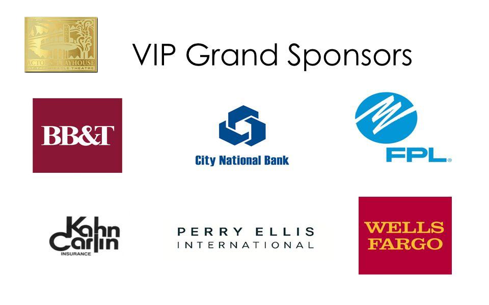 VIP Grand Sponsors
