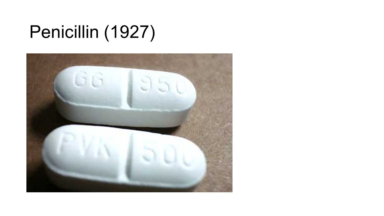 Penicillin (1927)