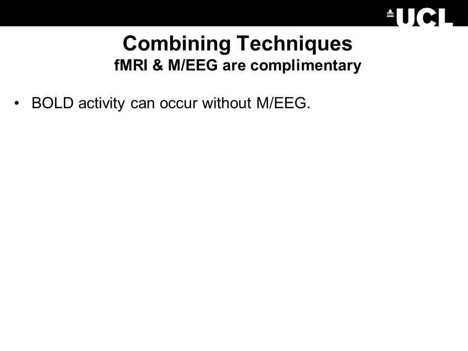 BOLD activity can occur without M/EEG.