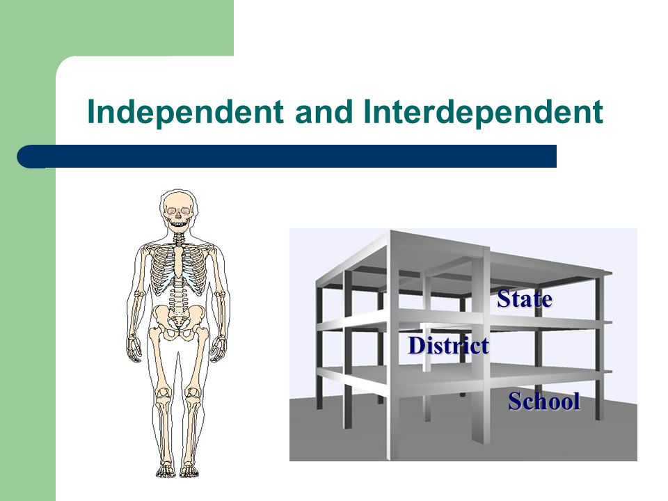 Independent and Interdependent State School District