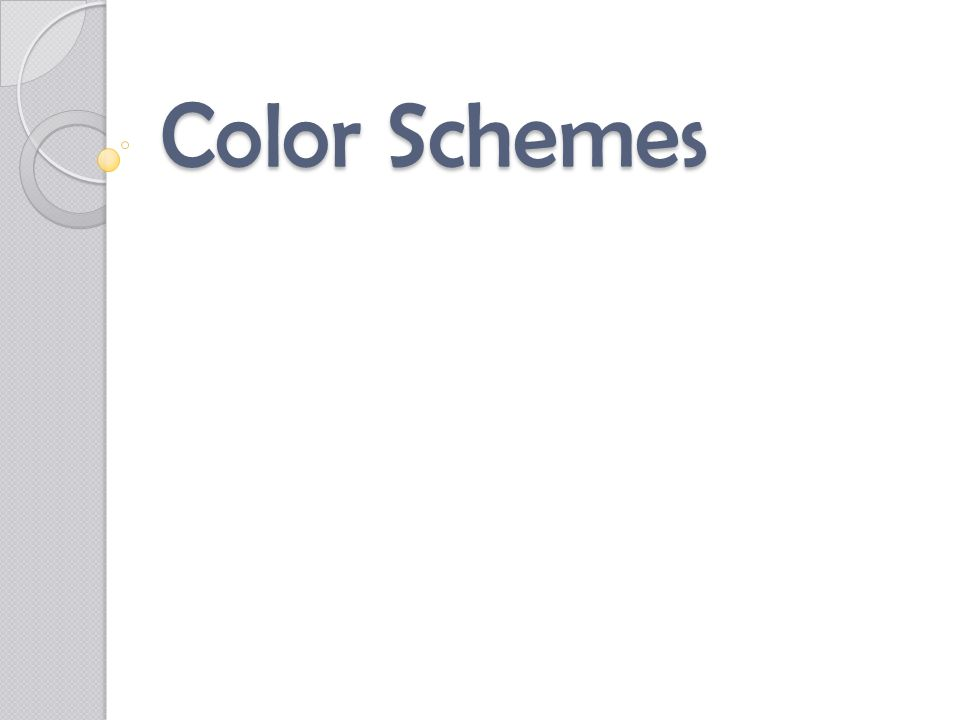 Analogous Hues are found next to each other on the color wheel Usually uses 3 to 5 hues: a primary or secondary and the intermediate hues on each side.