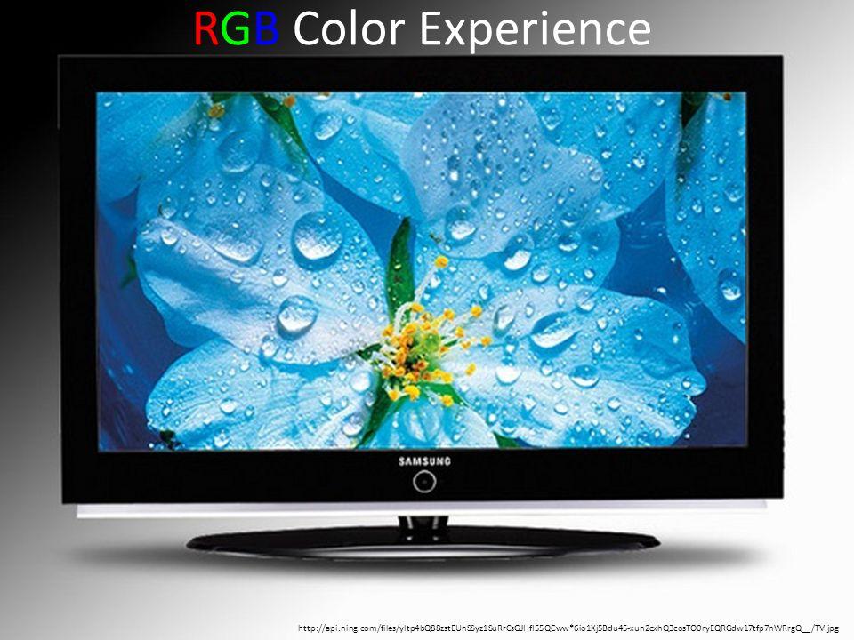 http://api.ning.com/files/yltp4bQ88zstEUnSSyz1SuRrCsGJHfI55QCww*6io1Xj5Bdu45-xun2cxhQ3cosTO0ryEQRGdw17tfp7nWRrgQ__/TV.jpg RGB Color Experience