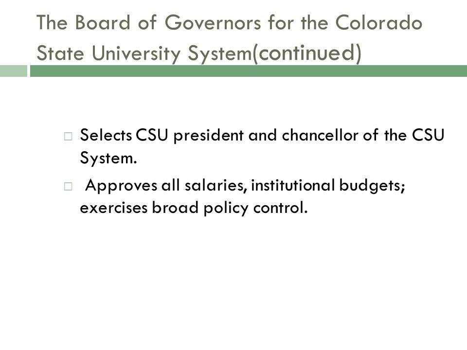 WELCOME TO CSU