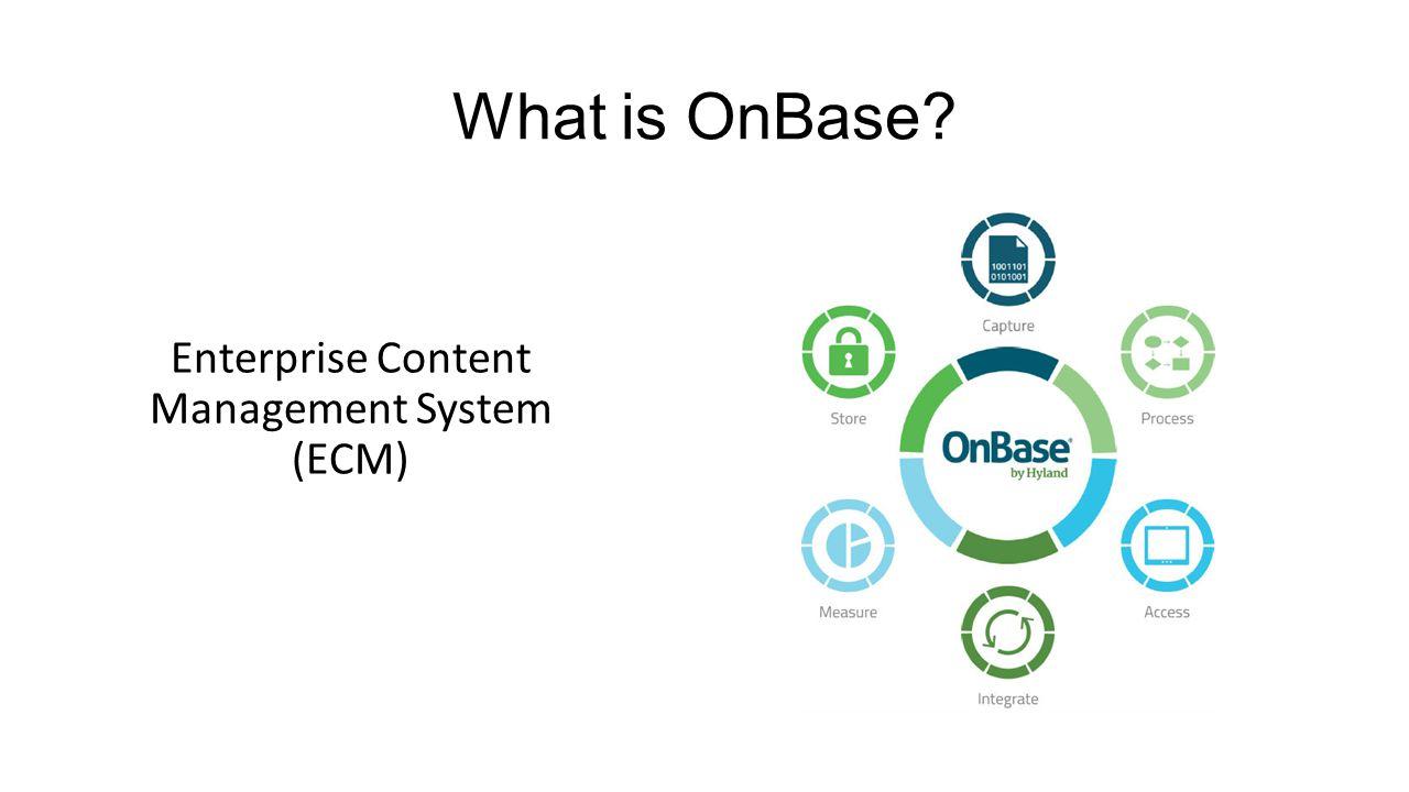 Enterprise Content Management System (ECM)