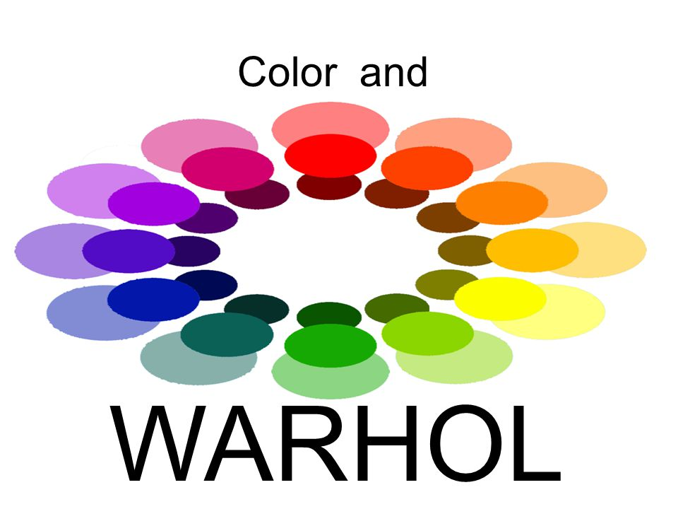 Color and WARHOL