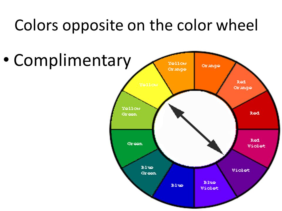 Colors next to each other on the color wheel? Analogous