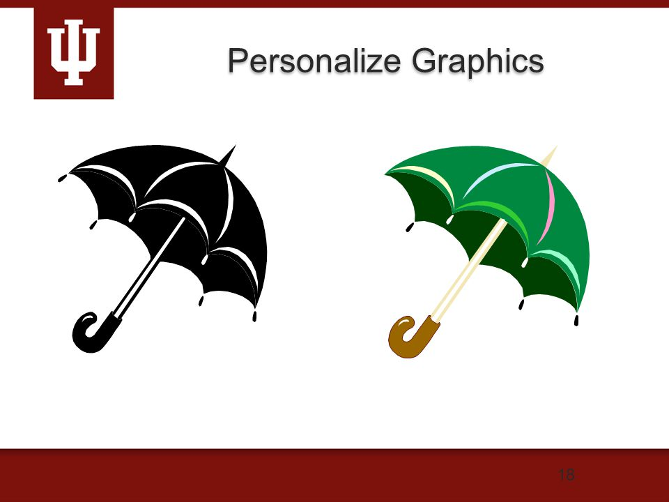 18 Personalize Graphics