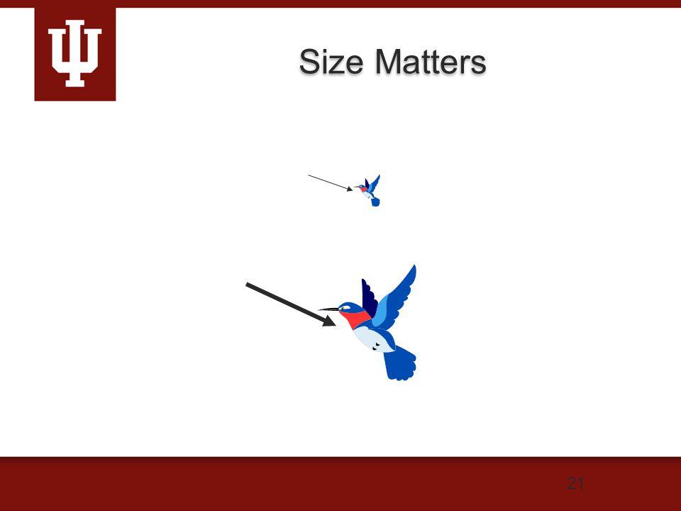 21 Size Matters