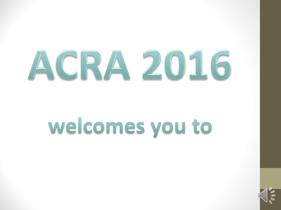Important Dates Call for Papers, Special Topic Sessions by May 30 Deadline to submit papers, proposals for ACRA 2016: August 31, 2015 Hotel reservation blocked till March 10, 2016 Conference Dates: April 13-16, 2016 JRIM Special Issue Deadline: May 31, 2016