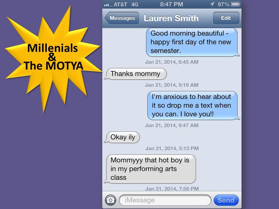 Millenials & The MOTYA