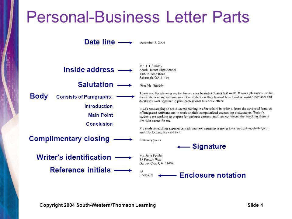 Copyright 2004 South-Western/Thomson LearningSlide 15 Mrs.