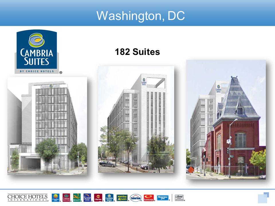 Washington, DC 182 Suites Cambria Suites D Street Project