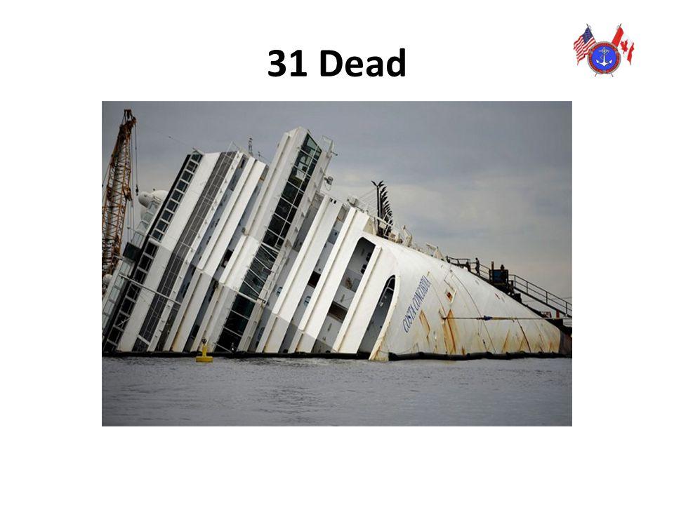 31 Dead