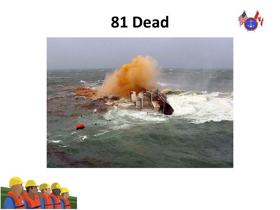 81 Dead