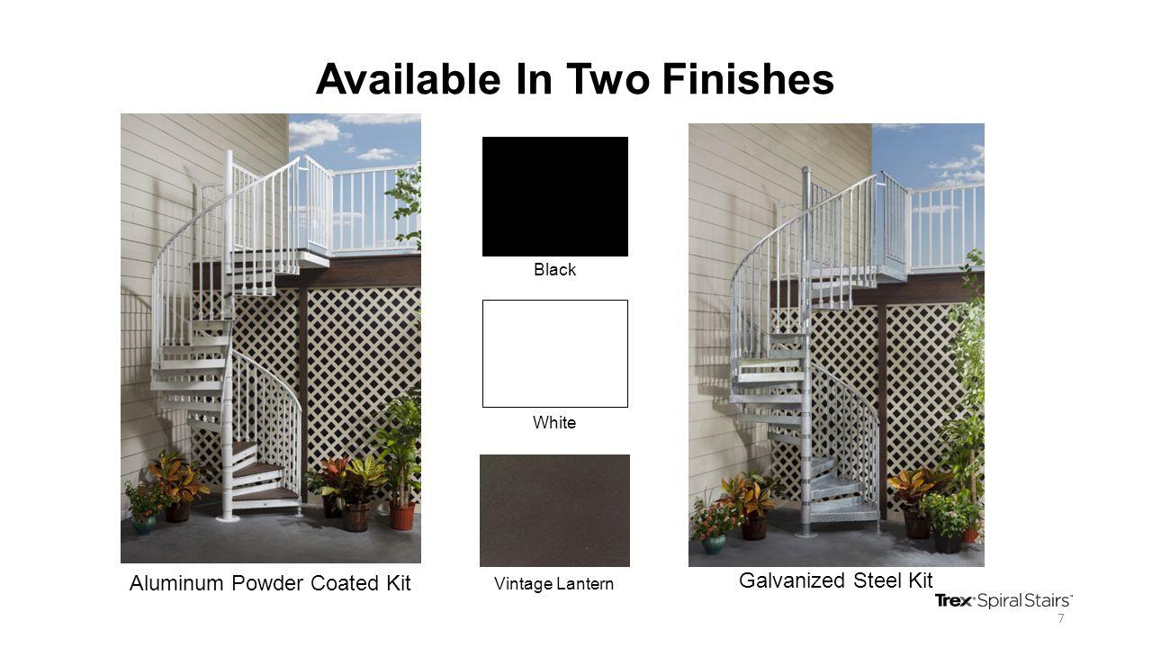 Available In Two Finishes Aluminum Powder Coated Kit Galvanized Steel Kit 7 Black White Vintage Lantern
