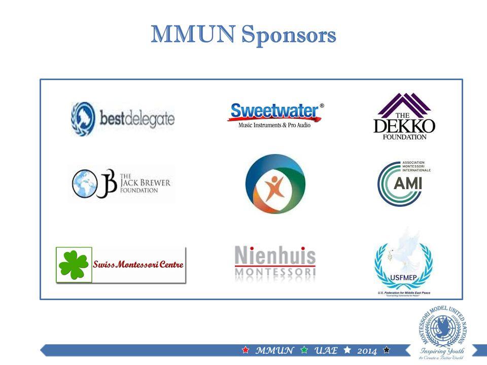MMUN Sponsors