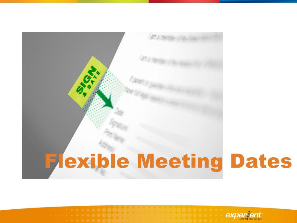 Flexible Meeting Dates