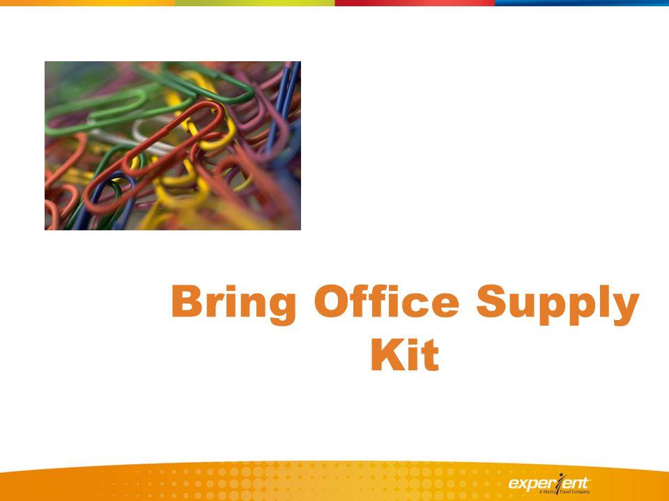 Bring Office Supply Kit