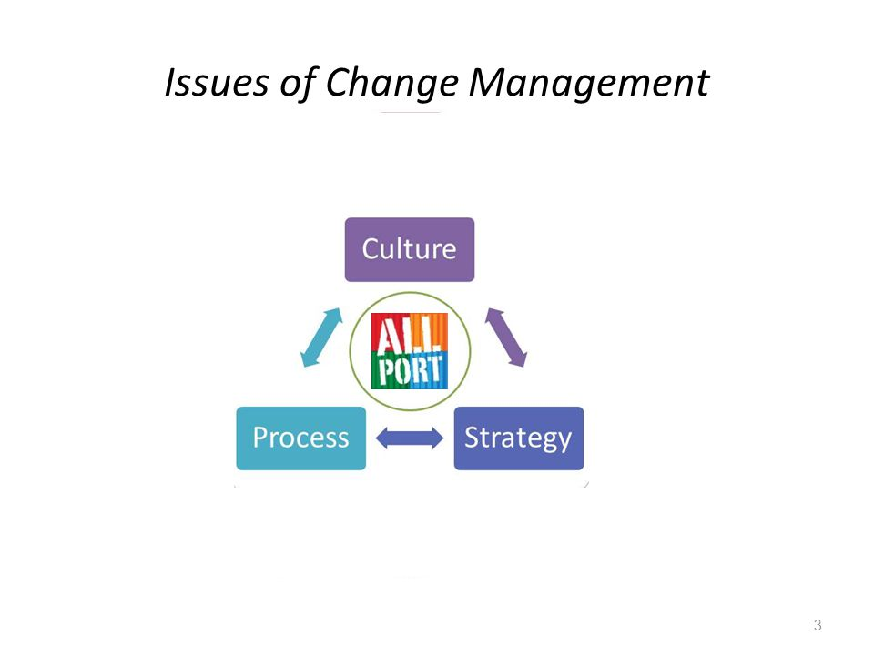 Issues of Change Management 3